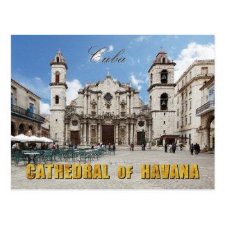 Carte Postale Cathédrale du 18ème siècle de La Havane, La