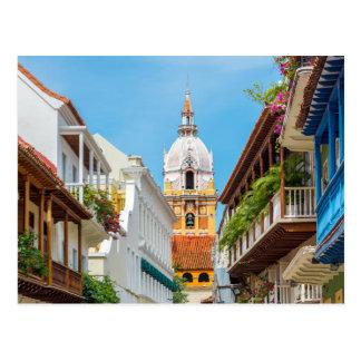 Carte Postale Cathédrale et balcons