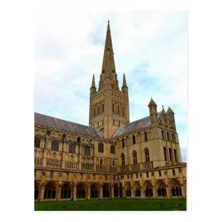 Carte Postale Cathédrale Norfolk de Norwich