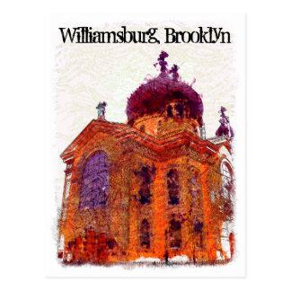 Carte Postale Cathédrale, Williamsburg, Brooklyn