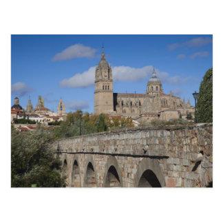 Carte Postale Cathédrales de Salamanque, vues du romano de