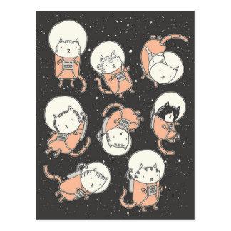 Carte Postale Catstronauts