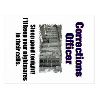 Carte Postale Cauchemars de dirigeant de corrections