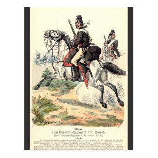 Carte Postale Cavalerie prussienne