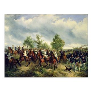Carte Postale Cavalerie prussienne sur l'expédition