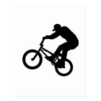 Carte Postale Cavalier de BMX