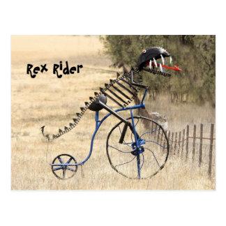 Carte Postale Cavalier de Rex