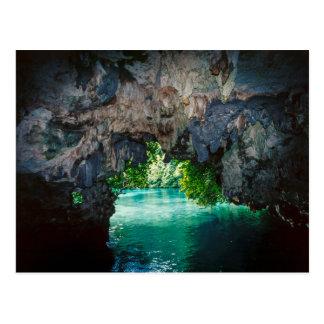 Carte Postale Caverne de batte dans Airai, Palaos, Micronésie
