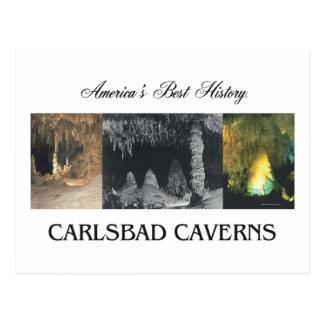Carte Postale Cavernes d'ABH Carlsbad