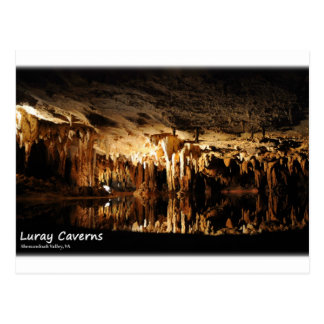 Carte Postale Cavernes de Luray, la vallée de Shenandoah la