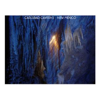 Carte Postale Cavernes Nouveau Mexique de Carlsbad