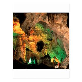 Carte Postale Cavernes Nouveau Mexique de Carlsbad de parc