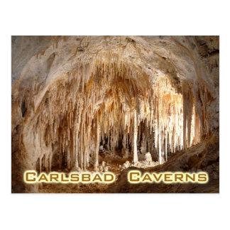 Carte Postale Cavernes parc national, Nouveau Mexique de