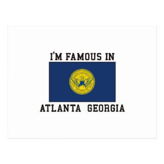 Carte Postale Célèbre à Atlanta, la Géorgie
