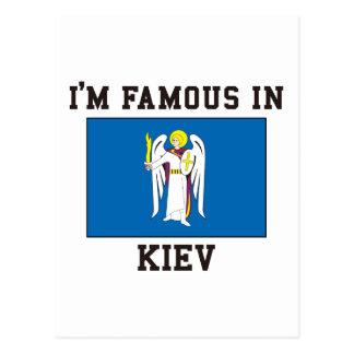 Carte Postale Célèbre à Kiev