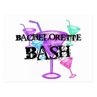 Carte Postale Célébrez le coup de Bachelorette