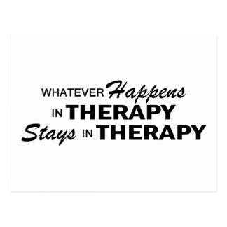 Carte Postale Celui qui se produise - thérapie