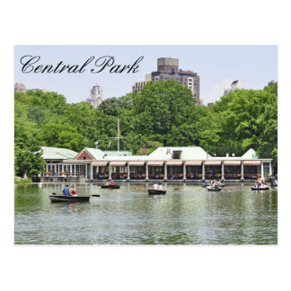 Carte Postale Central Park - Boathouse de Loeb