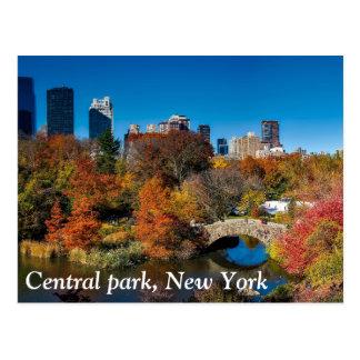 Carte Postale Central Park dans le feuillage New York d'automne