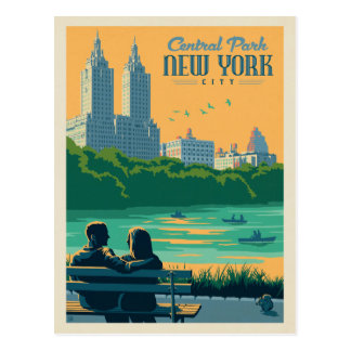 Carte Postale Central Park de New York City |