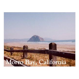 Carte postale centrale de la Californie de roche