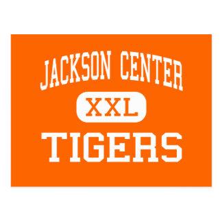 Carte Postale Centre de Jackson - tigres - haut - centre de