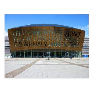 Carte Postale Centre de millénaire, Cardiff, Pays de Galles