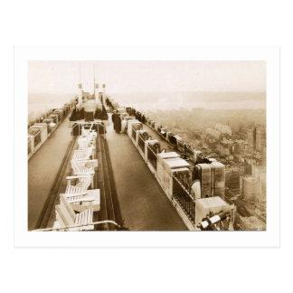 Carte Postale Centre de Rockefeller, dessus de toit, cru de New