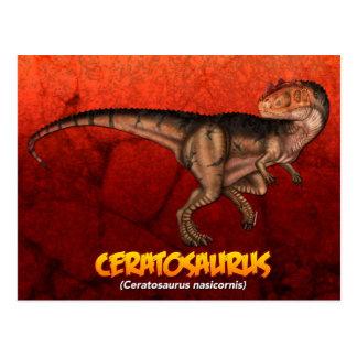 Carte Postale Ceratosaurus