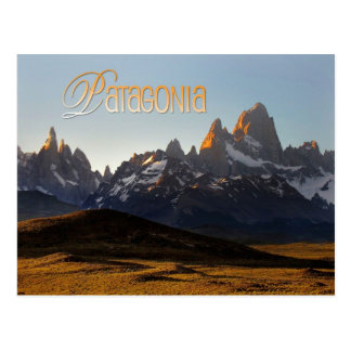 Carte Postale Cerro Torre et Monte Fitz Roy, Patagonia