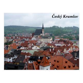 Carte Postale Český Krumlov, République Tchèque