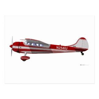 Carte Postale Cessna 195