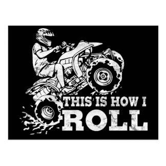 Carte Postale C'est comment je roule - ATV (tout le véhicule de