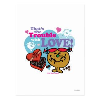 Carte Postale C'est le problème avec amour !