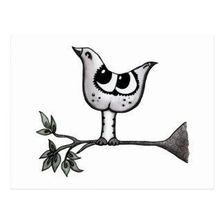 Carte Postale C'est un oiseau… que c'est un chat ! - Illusion