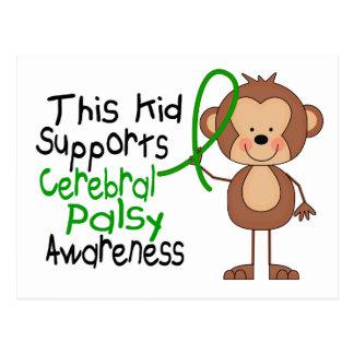 Carte Postale Cet enfant soutient la conscience d'infirmité