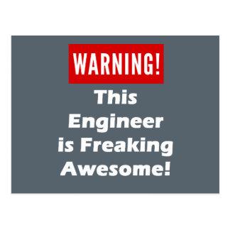 Carte Postale Cet ingénieur est Freaking impressionnant !