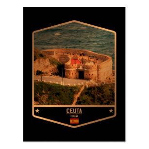 Carte Postale Ceuta