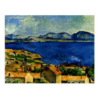 Carte Postale Cezanne - Golfe de Marseille vu de L'Estaque