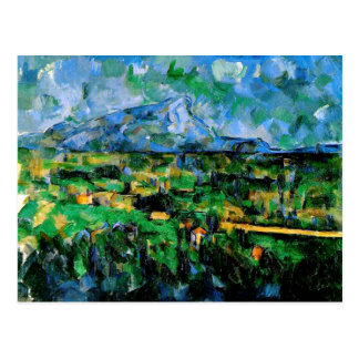 Carte Postale Cezanne - Mont Sainte Victoire