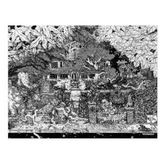 Carte Postale Chambre à l'extrémité de la ruelle