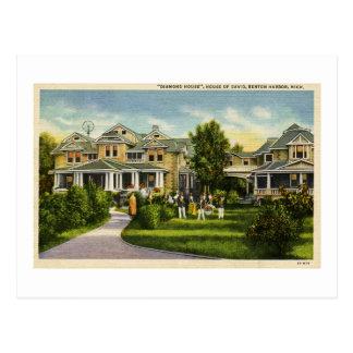 Carte Postale Chambre de diamant - Chambre du port MI de David -