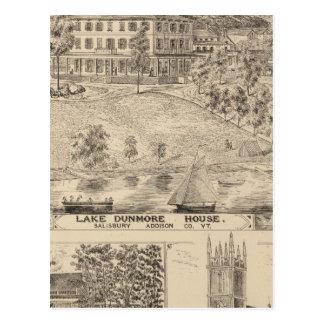 Carte Postale Chambre de Dunmore de lac à Salisbury