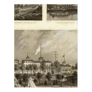 Carte Postale Chambre de Gregory, Doane, résidences de Thompson
