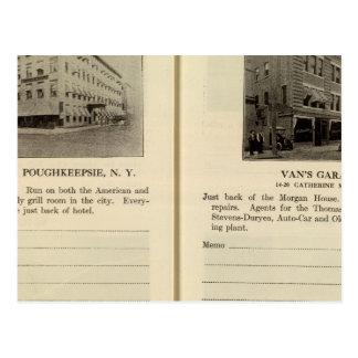 Carte Postale Chambre de Morgan, le garage de Van, Poughkeepsie