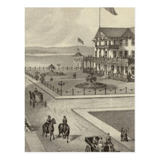 Carte Postale Chambre de Neptune, plage d'océan, NJ