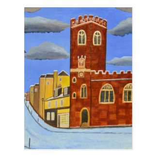 Carte Postale Chambre de Tudor à Exeter