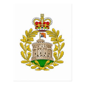 Carte Postale Chambre du manteau de Windsor des bras royal