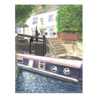 Carte Postale Chambre Nottingham de serrure de canal de Beeston