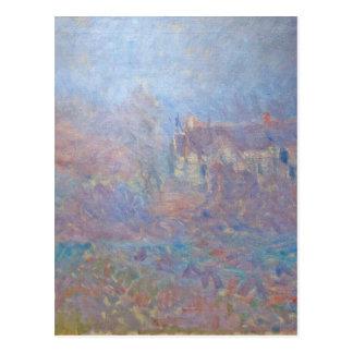 Carte Postale Chambres chez Falaise dans le brouillard par